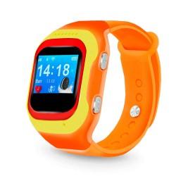 "Смарт-часы Ginzzu GZ-501 Orange 0.98""/IP55/And4.4,iOS7/GPS/WiFi"