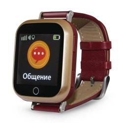 "Смарт-часы Ginzzu GZ-521 Brown 1.44""/IP65/And4.4,iOS7/GPS/Bt,WiFi"
