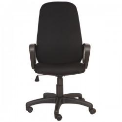 Кресло руководителя БЮРОКРАТ Ch-808AXSN/TW-11 (664041) ткань, механизм качания, регул. высоты, Black