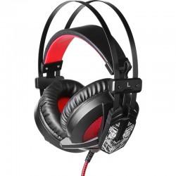 Игровая гарнитура Qumo Warlock GHS 0008 полноразмерные, кабель 2.2м, Black