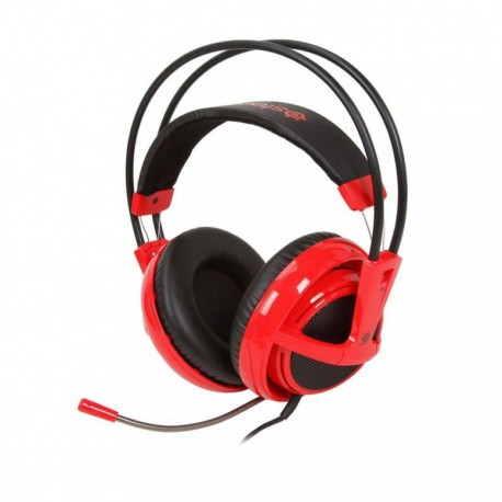 Игровая гарнитура SteelSeries Siberia v2 full-size headset Red
