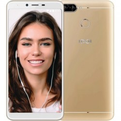 "Смартфон INOI 5 Pro Gold 2sim/5.5""/1440*720/4*1.3ГГц/2Gb/16Gb/mSD/13Мп/Bt/WiFi/GPS/And8.1/2850мАч"