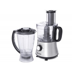 Кухонный комбайн Kitfort КТ-1319 Silver 500Вт, 1,5л, 3 насадки