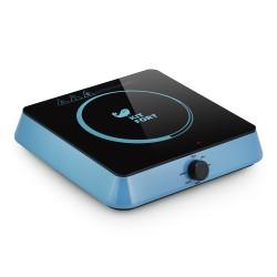 Плита настольная Kitfort КТ-113-1 Blue 1600Вт, конфорок-1, упр. механическое, индукция