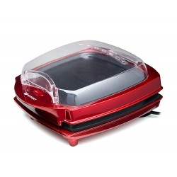 Гриль Kitfort КТ-1610 Red 1000Вт, антипригарное покрытие, мех-е управление