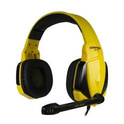 Игровая гарнитура Jet.A GHP-100 накладные, 16Ом, 114дБ, кабель 2.2м, Black/Yellow