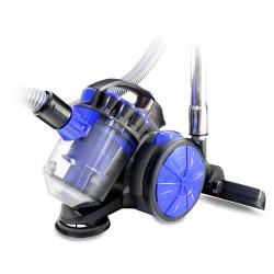 Пылесос Ginzzu VS419 Black/blue (1400Вт,мощ. вс. 220Вт,объем 1.5л,циклонный фильтр)