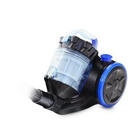 Пылесос Ginzzu VS424 Black/blue (1600Вт,мощ. вс. 300Вт,объем 2л,циклонный фильтр)