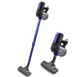 Пылесос вертикальный Ginzzu VS117 Black/blue (700Вт,объем 0.9л,циклонный фильтр)