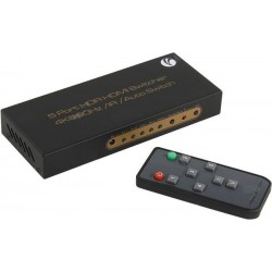 Переключатель HDMI 5 =>1 VCOM DD465 2.0v