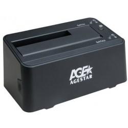 """Док-станция для HDD 2.5""""/3.5"""" USB 3.0 AgeStar 3UBT3-6G Black SATA III"""