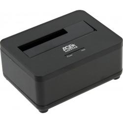 "Док-станция для HDD 2.5""/3.5"" USB 3.0 AgeStar 3UBT7 Black SATA III пластик/алюминий"