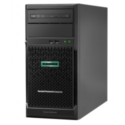 ProLiant ML30 Gen10 E-2134 Hot Plug Tower(4U)/Xeon4C 3.5GHz(8MB)/1x16GB2UD_2666/S100i(ZM/RAID 0/1/10/5)/noHDD(4)LFF/noDVD/iLOstd(no port)/1NHPFan/PCIfan-baffle/2x1GbEth/1x500W(2up)