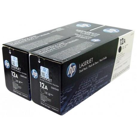 Картридж лазерный HP Q2612AF для 1010 1012 1015 1018 3050 M1319f 2шт Black
