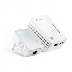 Адаптер Powerline TP-Link TL-WPA4220KIT (Комплект из 2-х адаптеров Powerline AV 500 Мбит/с )