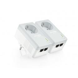 Адаптер Powerline TP-Link TL-PA4020PKIT (Комплект из 2-х адаптеров Powerline AV 500 Мбит/с )