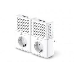 Адаптер Powerline TP-Link TL-PA7020PKIT (Комплект из 2-х адаптеров Powerline AV 1000 Мбит/с )