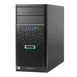 ProLiant ML30 Gen9 E3-1240v6 Hot Plug Tower(4U)/Xeon4C 3.7GHz(8MB)/1x16GBU2D_2400/B140i(ZM/RAID 0/1/10/5)/noHDD(8)SFF/noDVD/iLOstd(no port)/1NHPFan/2x1GbEth/1x460W(2up)