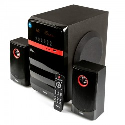 Актив.колонки 2.1 Dialog Progressive AP-240B 70Вт, Bluetooth, USB/SD, питание от сети, MDF/пластик, Black