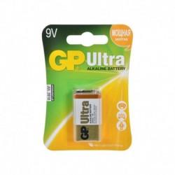 Батарейки Крона GP Ultra Alkaline 1шт уп (1604AU-5CR1 ULTRA)