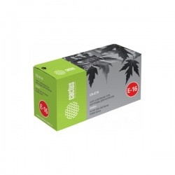 Картридж лазерный Cactus CS-E16 для CANON FC100/200/300,PC800 черный (2000 стр)