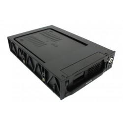 "Салазки (Mobile Rack) для HDD 3.5"" AgeStar SRTP(K)-2F SATA пластик черный"