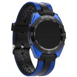 "Смарт-часы Prolike Jet PLSW7000 color Blue 1.2""/And,iOS/IP54/Bt"
