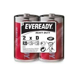 Батарейки R20(D) Energizer Max Heavy Duty 2шт уп