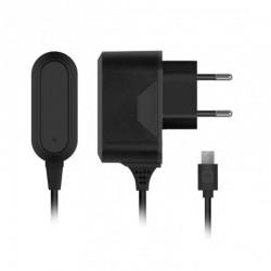 Зарядное устройство - microUSB 2.1A - Prime Line черное (2309)