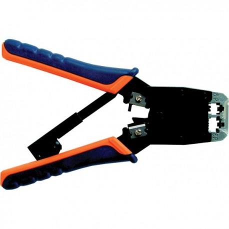 Инструмент для обжима разъемов NIKOMAX NMC-500R 8p8c 6p4c