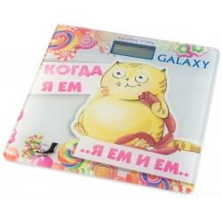 Весы Galaxy GL 4830 стекло, точность 0,1кг, макс. 180кг, авто вкл/выкл