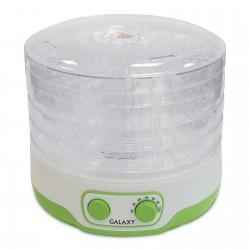 Сушилка для овощей Galaxy GL 2634 White/green 300Вт, 5 поддонов