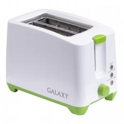 Тостер Galaxy GL 2907 White 800Вт, механическое управление