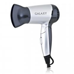 Фен Galaxy GL 4303 Blackt/silver (1200Вт,2 режима,1 насадка)
