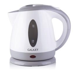 Чайник Galaxy GL 0222 White/grey (2200Вт,1.2л,пластик,открытая спираль)