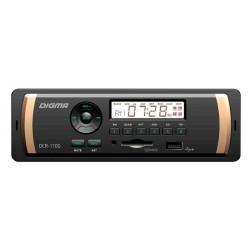 Автомагнитола Digma DCR-110G 1DIN, 4x45Вт, MP3, FM, USB, AUX