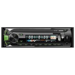 Автомагнитола Digma DCR-380G 1DIN, 4x45Вт, MP3, FM, USB, AUX