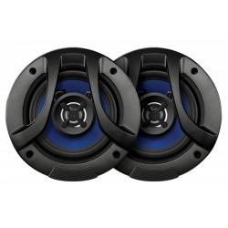 Колонки автомобильные 10см Digma DCA-M402 60/120Вт, 100-20000Гц, 4Ом, 90дБ, коаксиальная АС