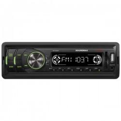 Автомагнитола Soundmax SM-CCR3050F 1DIN, 4х45Вт, MP3, FM, SD, USB, AUX