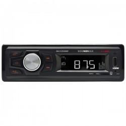 Автомагнитола Soundmax SM-CCR3056F 1DIN 4x40Вт, MP3, FM, SD, USB, AUX