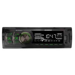 Автомагнитола Soundmax SM-CCR3063FB 1DIN, 4x45Вт, MP3, FM, USB, AUX