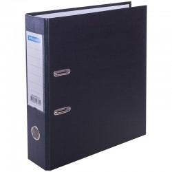 Папка-регистратор 70мм. Спейс бумвинил с карманом, черная (AFbv70-5-732) 162580