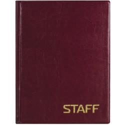 Телефонная книга STAFF А5 80л. спираль (120927)