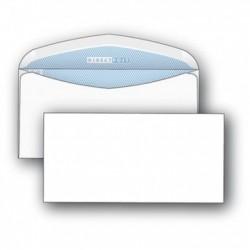 Конверт С65 114*229 белый, клеевой край (2157)