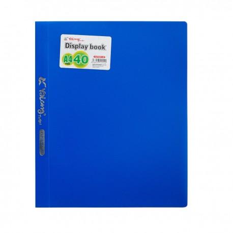 Папка с 40 вкл. YALONG ассорти (YL975061-40)
