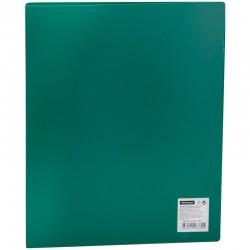 Папка 2 кольца Спейс 25мм. 500мкм. зеленая (ПН2К 20332)