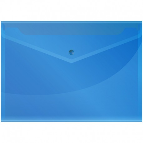 Папка-конверт на кнопке А4 150мкм. Спейс синяя (Fmk12-5 / 220897)