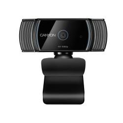 Веб-камера CANYON CNS-CWC5 2МП/1920*1080 микрофон,автофокус,крепл на монитор,совместима со Smart TV