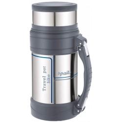 Термос Winner WR-8260 1.5л,нерж.сталь,широкое горло,доп.чашка,матовый горпус