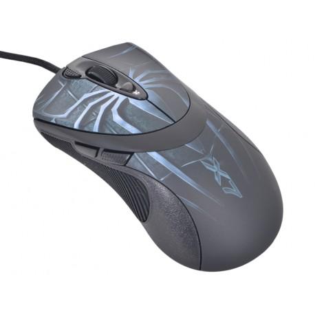 "Мышь USB A4Tech XL-747H Laser Extra High Speed Oscar Editor Anti-Vibrate ""синий паук"""